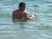 08 AOUT vive la baignade Gabin adore!.JPG